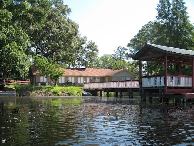 Vacation Pond House Retreat/Wedding - Statesboro - Maison
