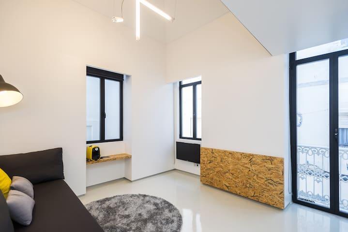 Design studio 1 step from the beach - 塞新布拉