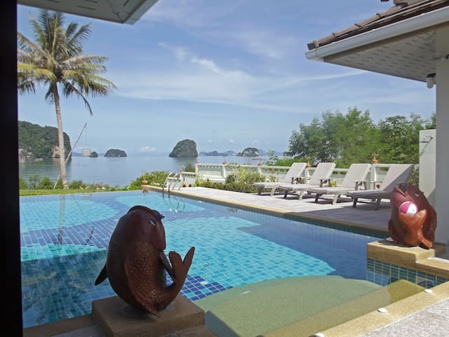 Sea View Villa With Private Pool  - Khao Thong - 別荘