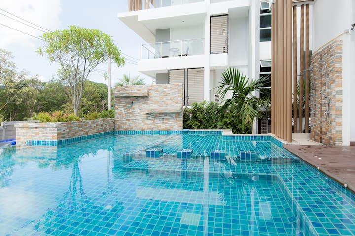 37sqm 1 bedroom condo pool gym wifi - Wichit