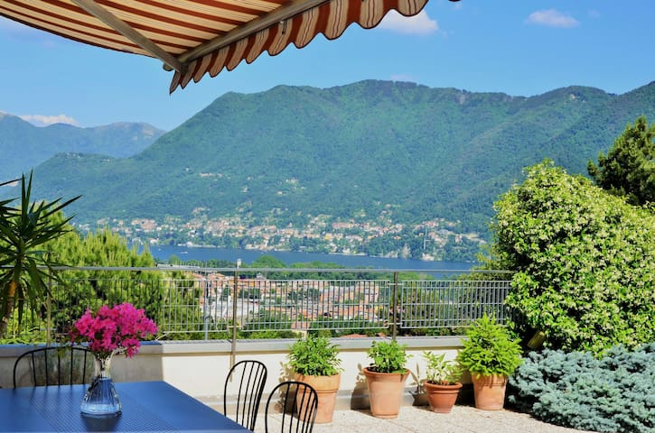 ComoAtHome Lake View Free Parking - Como - Appartement