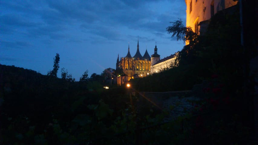 Room with a beautiful view  - Kutna Hora