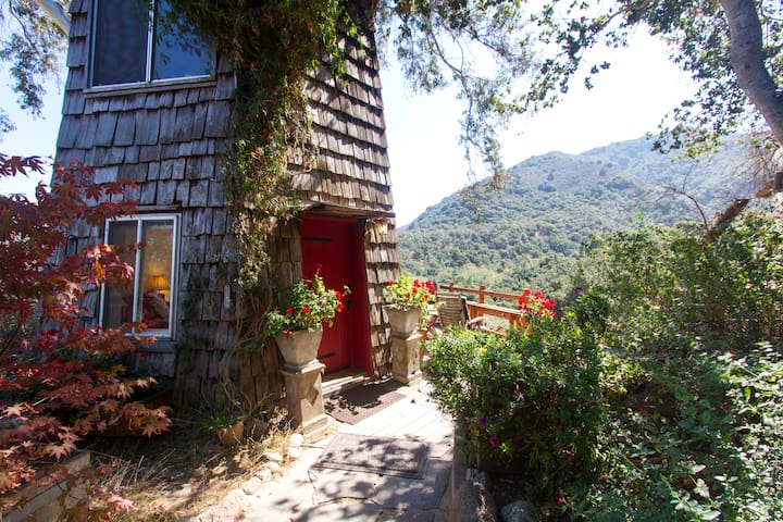 serene peaceful tower retreat - 卡梅爾瓦利(Carmel Valley) - 小木屋