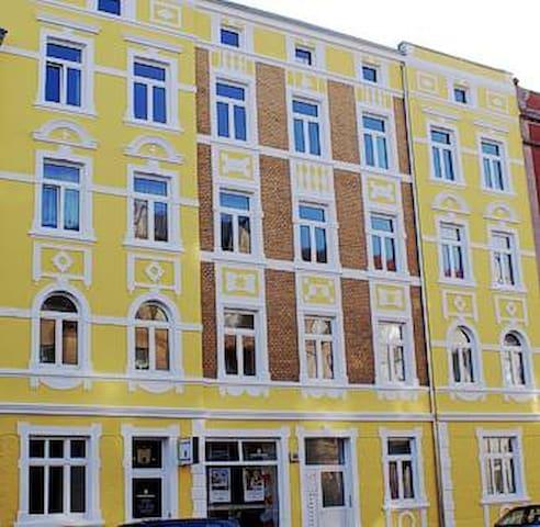 Kleine Wohnung in Bahnhofsnähe - Stralsund - Appartement