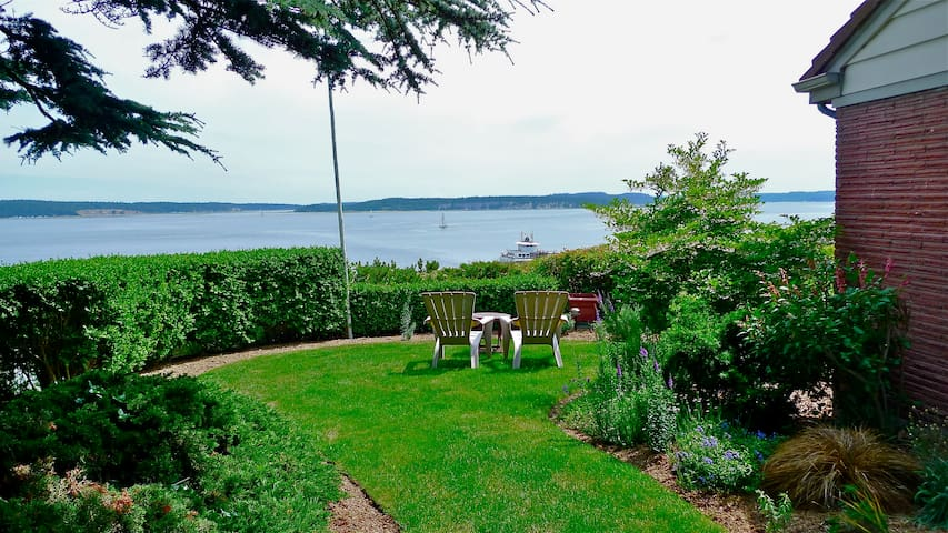 Water View Walkable to Downtown  - Port Townsend - Leilighet