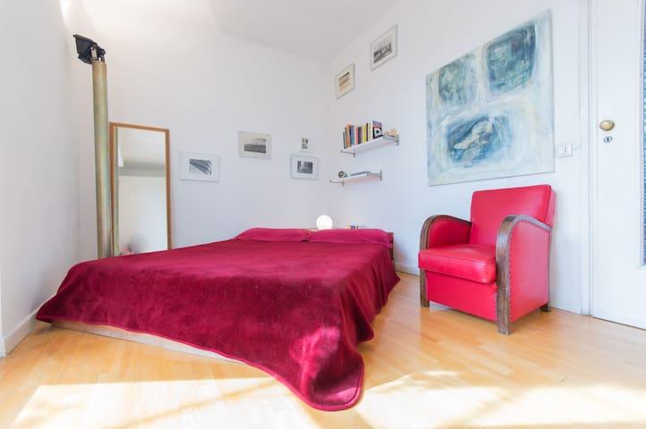 Central Room, Terrace, GreatView, Private Bathroom - Turín - Departamento