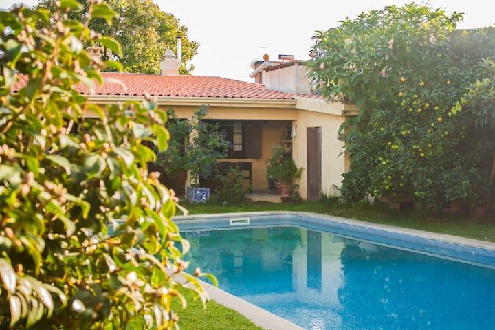 Rustic style garden flat near Porto - Maia - Otros