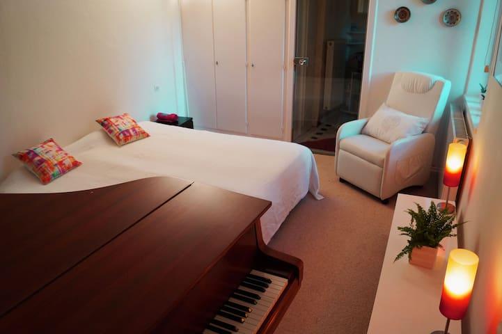 Chambre indépendante avec piano  - Ingwiller - Hus