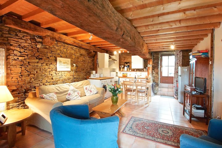 Charming cottage nr Mont St Michel - Tremblay - Hus
