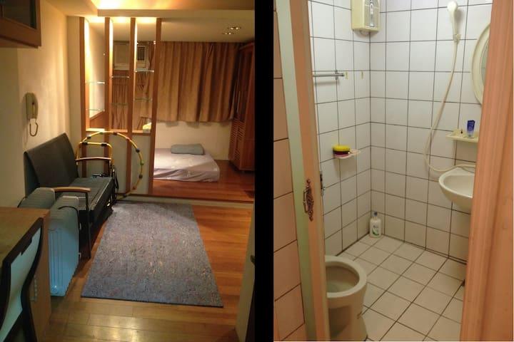 Osim URobic WiFi Double Bed Room 溫馨實惠獨立套房 - East District - Ev