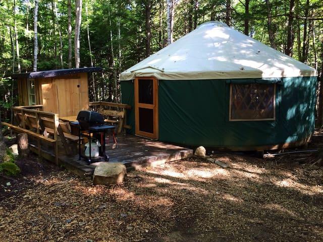 Hemlock Ridge Yurt - Durham - Yurt