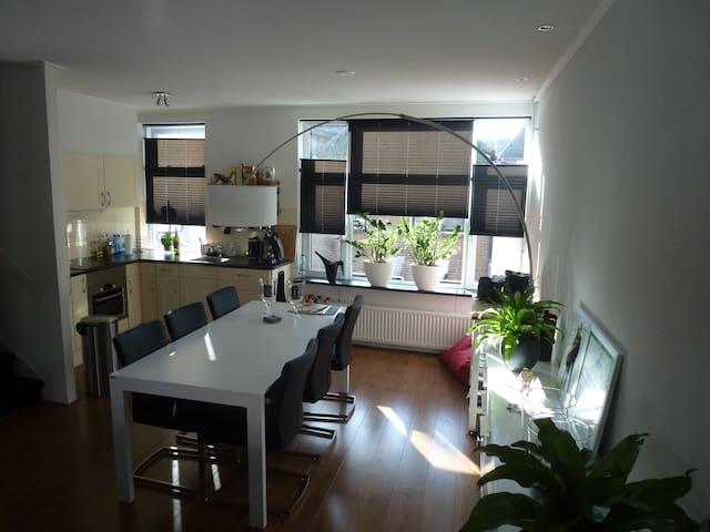 Sfeervol appartement met dakterras - Kampen - Daire