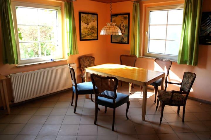 Ferienhaus am See + Boot - Walow - Hus