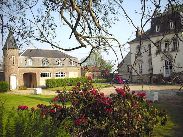 Tourelle aménagée - Bosc-Mesnil - Huis