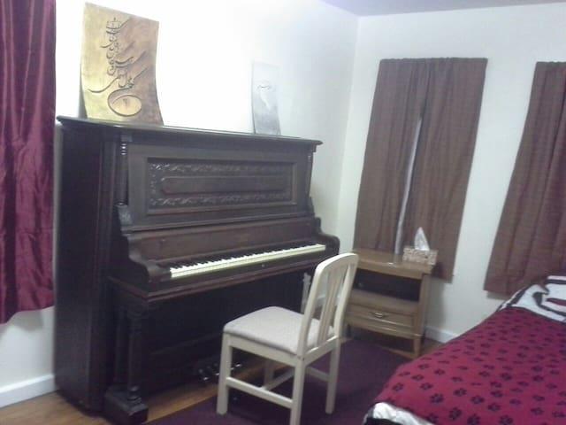 Private room, single bed - Binghamton - Departamento