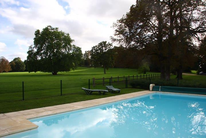 Cottage avec piscine - Vallenay - Rumah