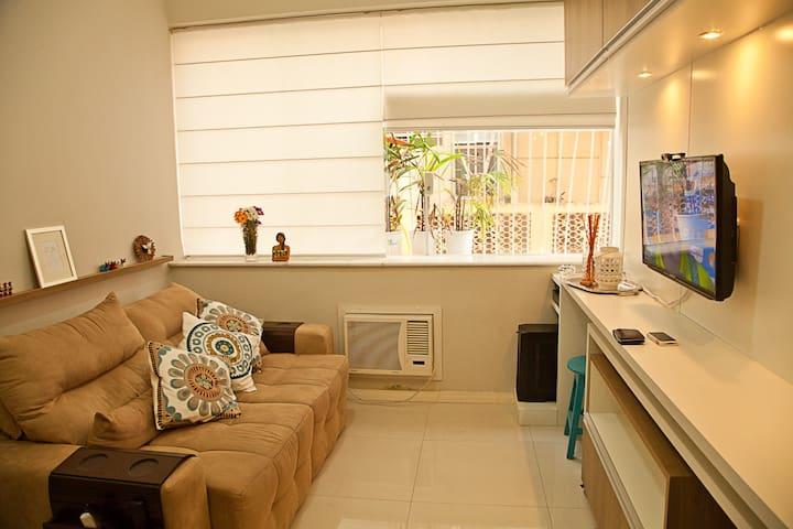 Lindo apartamento na Glória - Rio de Janeiro - Huoneisto