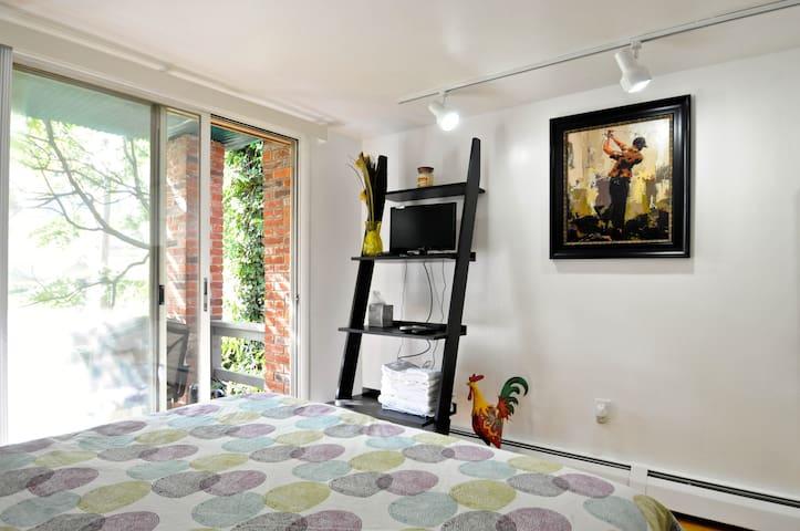 Charming Historical 2 -  Studio with Balcony - Philadelphia - Appartement