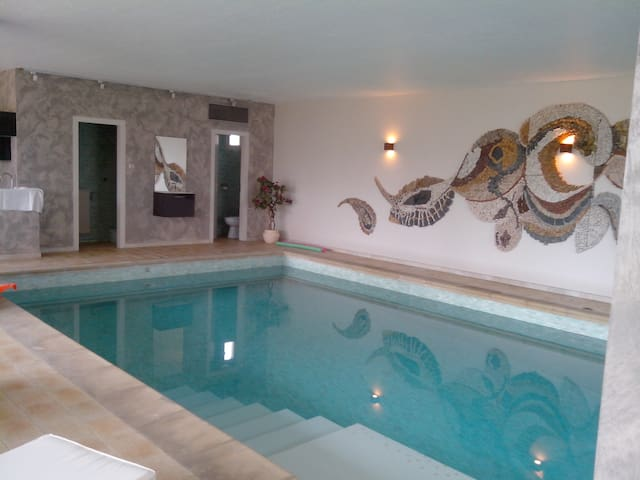 BREDEL HOUSE-3rooms-6pers-pool-wifi - Geudertheim - Appartement