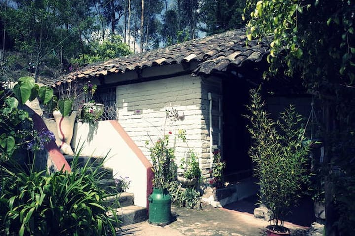Private house in magnificent garden - Otavalo - Hus