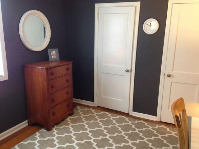 Cozy bdroom in Philly suburb - Hatboro - Casa