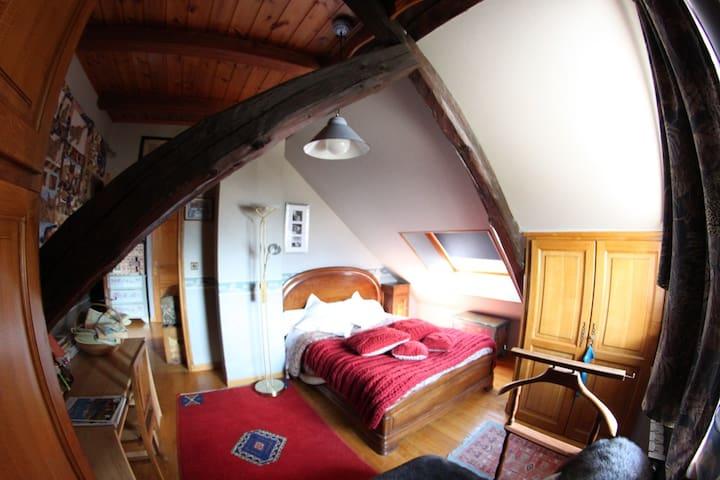 Chambre Zoé 2 Personnes - Villar-Saint-Pancrace - Bed & Breakfast