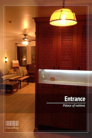 Cool apartment location/开发区万国宫馆 - Dalian - Appartement