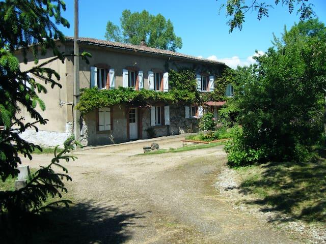 gite 4pers-parc naturel livradois   - Sermentizon - Huis