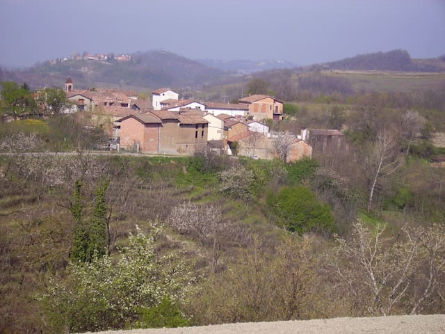 Renovated barn in Piedmont hills - Montemarzino - Lägenhet