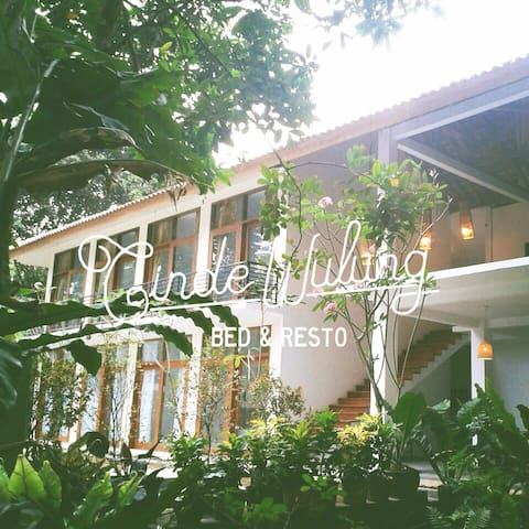 Cindewulung Bed & Resto - Room #8 - Carita - Labuan - Bed & Breakfast