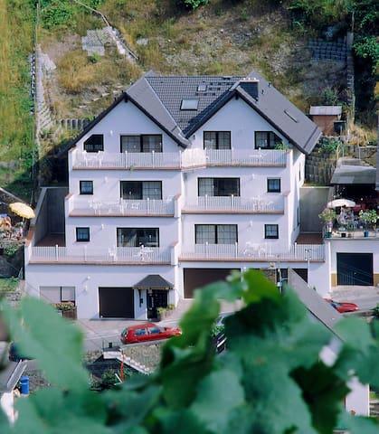 Ferienwohnung mit Rheinblick - Rüdesheim am Rhein - Apartemen
