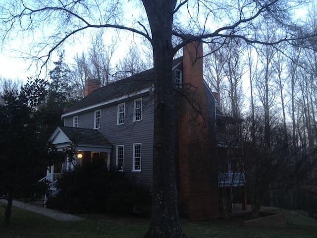 Historic Plantation House ca.1809 - Powhatan - Huis