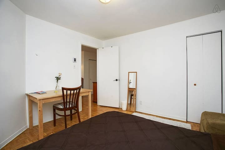 Private big room, heart of Plateau - Montreal - Casa