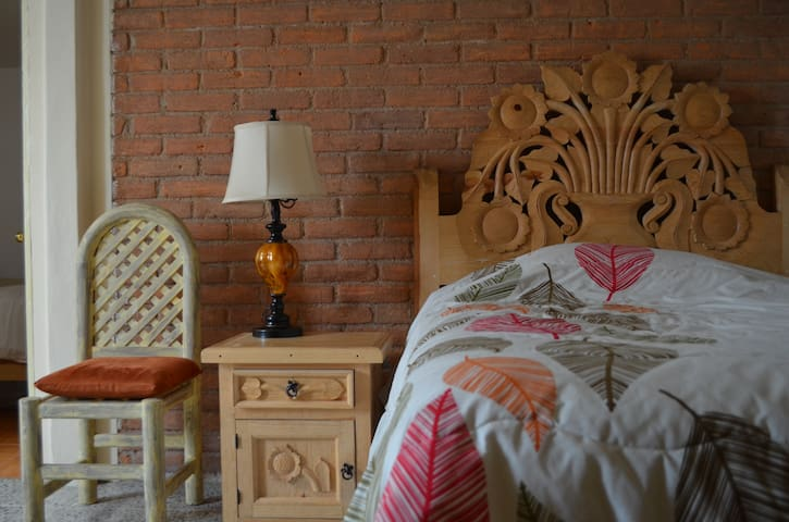 Room and Kitchen - Toluca de Lerdo - Bed & Breakfast