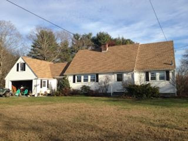 Crisp Bright Country Space - Groton - Maison