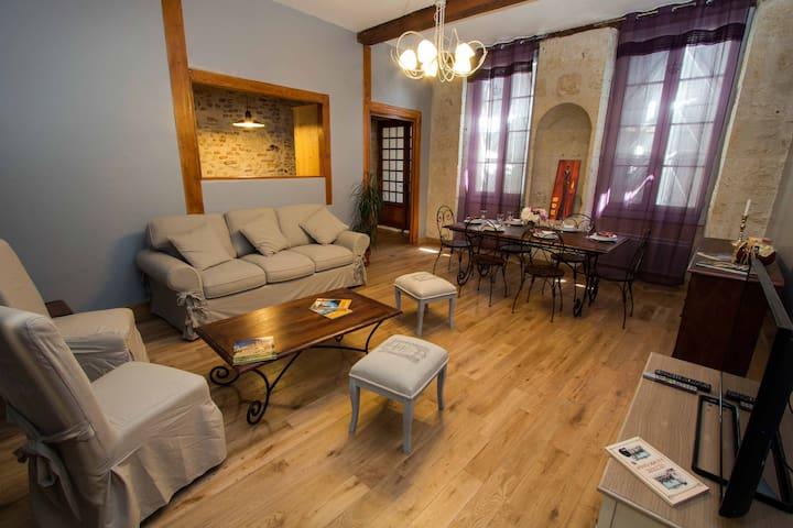 GRAND CONFORT EN CENTRE VILLE - Lectoure - Lägenhet