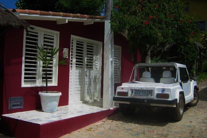 Casa Banana, charmantes Haus im Zentrum von Pipa - Pipa