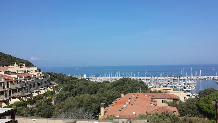 splendida vista sull'arcipelago - Punta Ala - Apartament