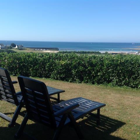 Maison moderne avec vue mer - Primelin - Rumah