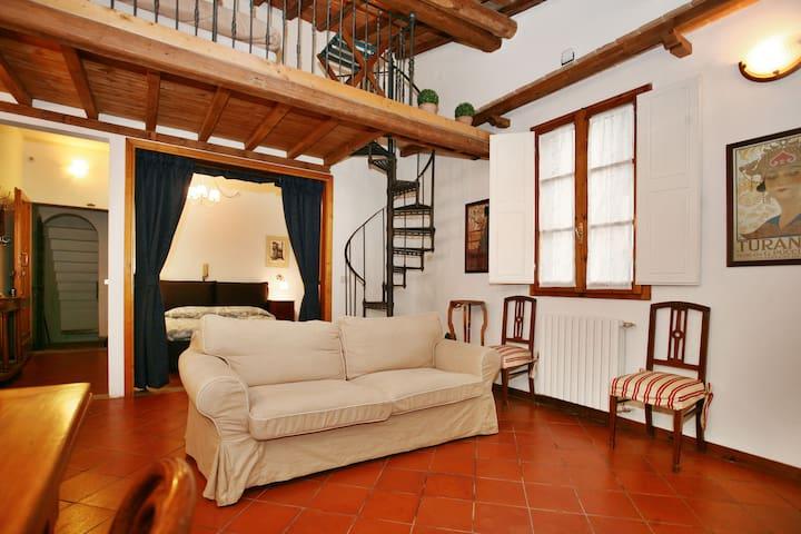 Charming Loft historic centre - close SMN station - Florence - Loft