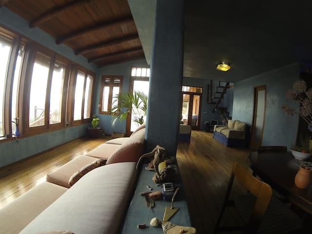Casa Bioclimática con finca - Arafo - Huis