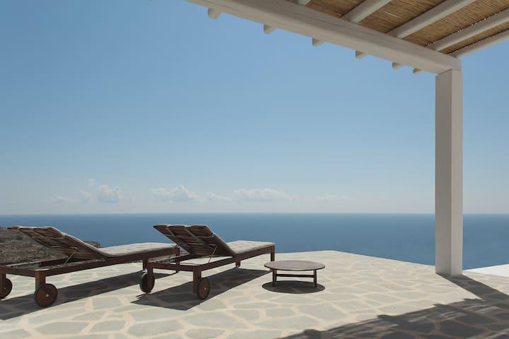 House Folegandros amazing sea view - Folegandros - Casa