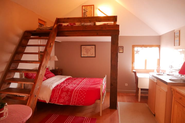 Chambre d'hôtes KIRSCH en Alsace - Magstatt-le-Bas - Appartement