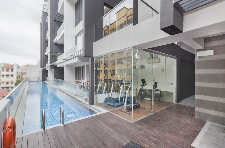 Brand New Apartment Near the City - Singapur - Departamento
