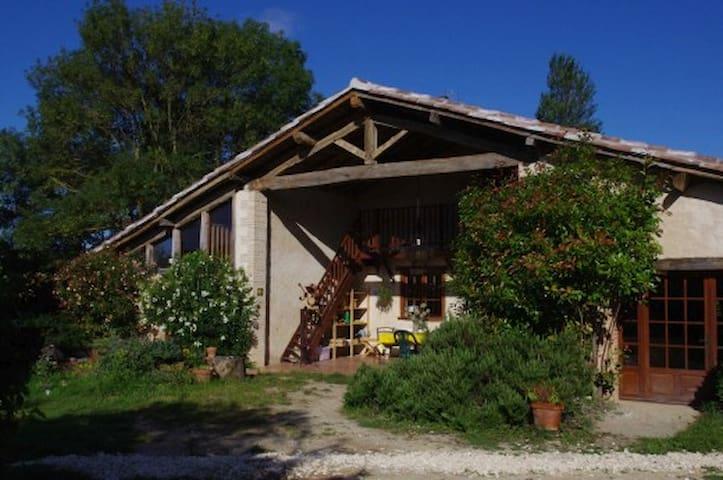 Gite à la ferme Le Grangé - Lit D1 - Giscaro - Lerhydda