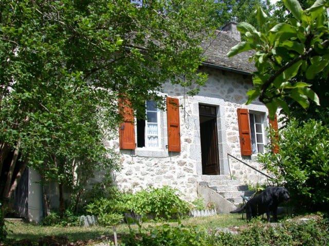 Maison- Chataigneraie-Cantal - ladinhac - Hus