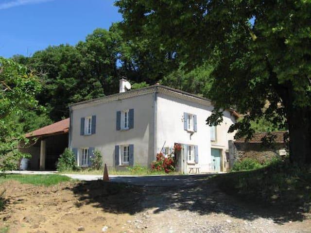 Ferme rénovée du 19eme en plein coeur des collines - Chantemerle-les-Blés - Casa
