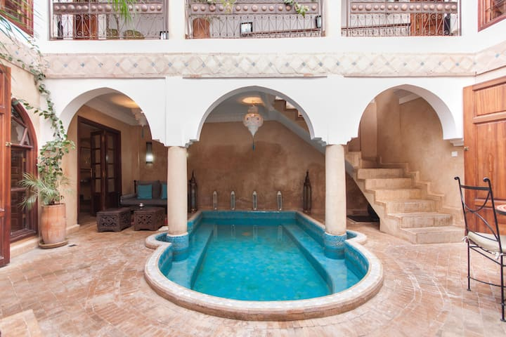 Lovely Riad privatisé pool&WIFI - Marrakech