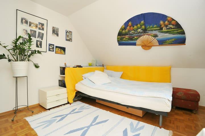private modern sunny cosy personal - Stuttgart - Loft