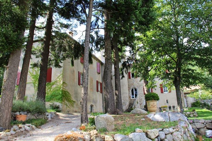 Château de la Rode, Suite Carmin - Aumessas - 獨棟
